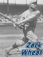 Zack Wheat Baseball