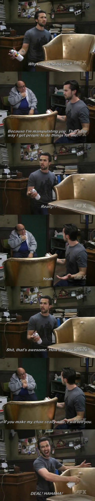 Frank Tricks Mac Into Doing All The Work On It's Always Sunny In ...