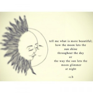 Sun And Moon Quotes Love sun moon quotes