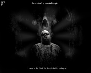 Notorious B.I.G - suicidal thoughts by TheSayGi on deviantART