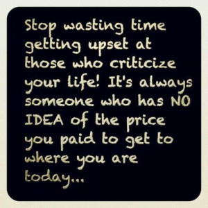 Stop wasting time. ...