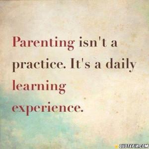 Inspirational Parenting...