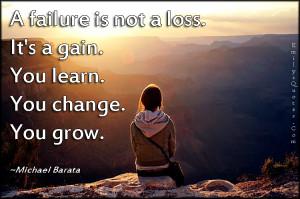 Failure sucks. Failure is painful. At the same time, failure makes us ...