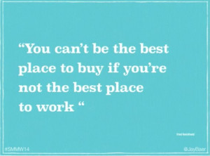 ... must be a great place to work! Great quote from Jay on that matter
