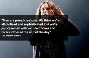 Frases de Ozzy Osbourne para Facebook