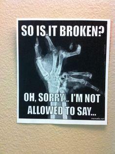 Radiology humor More