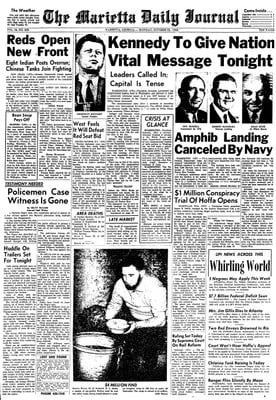 Cuban Missile Crisis Newspaper Articles