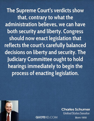 ... Judiciary Committee ought to hold hearings immediately to begin the