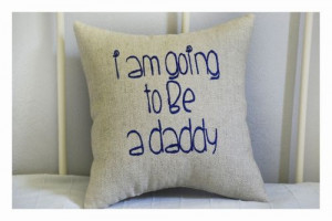 Expecting a baby, expecting parents pillow, expecting parents gift ...