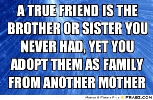 Sister From Another Mother Quotes