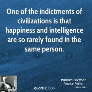 William Feather Intelligence Quotes