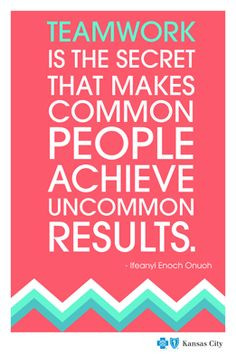 quotes on achievement and teamwork