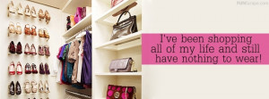 Shopping Facebook Cover Used: 30 times
