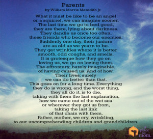 Inspirational Quotes About Aging Parents