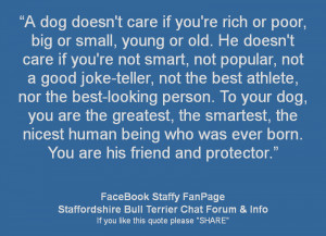 Re: Dog Quotes