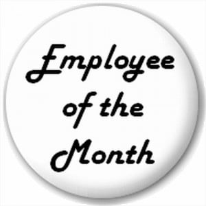 ... and Leisure Online - NEW LAPEL PIN BUTTON BADGE: Employee Of The Month