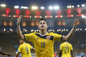 Mondiali 2014 : Il capocannoniere James Rodriguez
