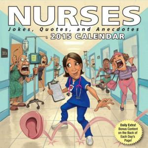 Nurses Page-A-Day Calendar 2015 at MegaCalendars.com
