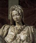 Michelangelo Buonarroti >> Pieta (detail 2) | (Oil, artwork ...