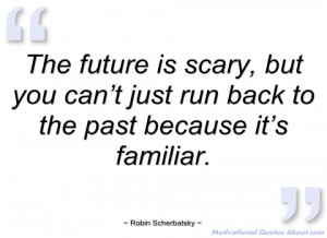the future is scary robin scherbatsky