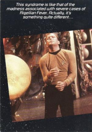Star Trek Greeting Card – Love Card – Captain Kirk