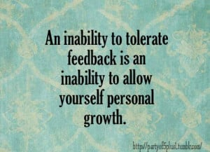 quotes about receiving feedback. quotesgram
