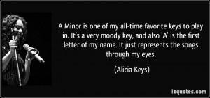 More Alicia Keys Quotes