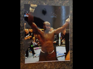 CHEICK KONGO Signed AUTOGRAPHED 8x10 Pic MMA UFC d