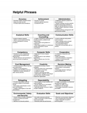 Samples of Job Performance Evaluations by fvf19035