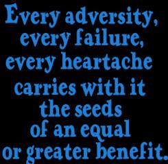 Adversity Napoleon Hill Quotes