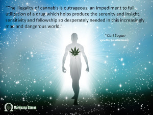 Marijuana Quote by Carl Sagan