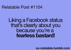 Funny Quotes To Post On Facebook Status #1