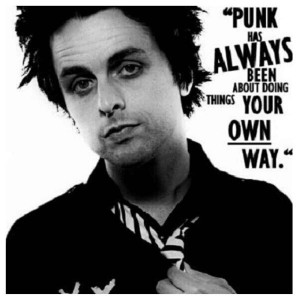 Billie Joe Armstrong - Green Day. Billie is one of my biggest idols ...