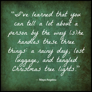 Quotes: Maya Angelou Quote on Finding the Peace and Patience Within