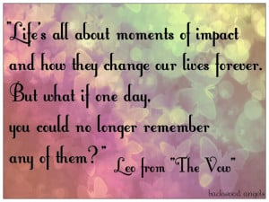Quote Quotes The Vow