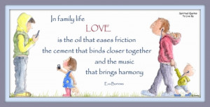 Family' illustrated by Sandra Reeves - Spiritual Quotes To Live By
