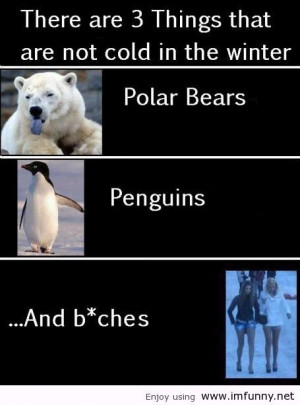 ... cold in the winter | Funny Pictures, Funny Quotes – Photos, Quotes