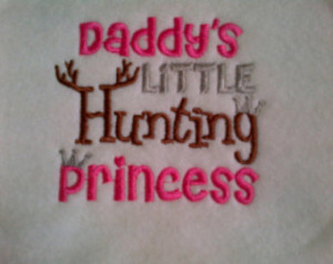 Daddys Little Country Girl Quotes Hunting bib - daddy's little hunting ...