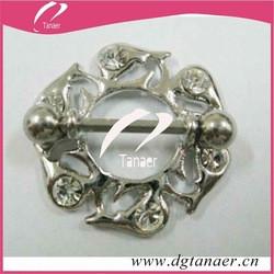 Wholesale body jewelry nipple piercing bar jewelry