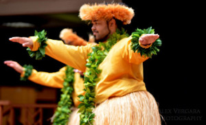 Male Hula Dancers