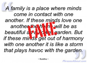 Buddha Quotes On Family