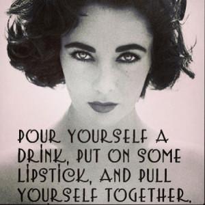 ... Brook posts mood-boosting Elizabeth Taylor quote after big break-up