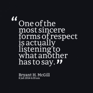 Quotes About: listening