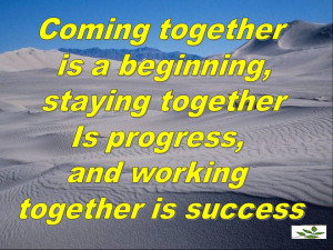 Coming Together Quotes