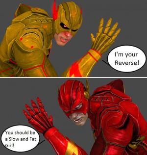 Injustice: Professor Zoom vs The Flash by xXTrettaXx
