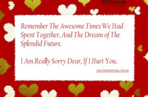 Remember The Awesome Times We Had Spent Together,