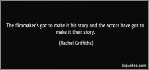 More Rachel Griffiths Quotes