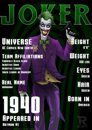 Comic Book Joker Quotes