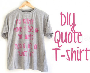 ... very easy project and you can use any quote or text that you like