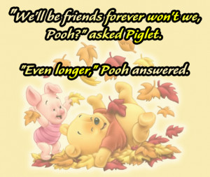 great quotes winnie the pooh forever friendship quotes sayings by ...